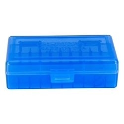 Picture of BERRY'S 401 BLUE AMMO BOX (380/9MM) 50RD