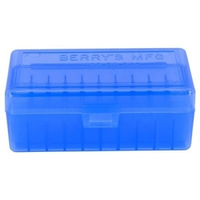 Picture of BERRY'S 403 BLUE AMMO BOX (38/357) 50RD