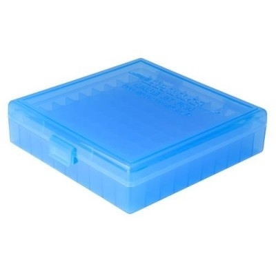 Picture of BERRY'S 008 BLUE AMMO BOX (.40/45ACP/10MM) 100RD