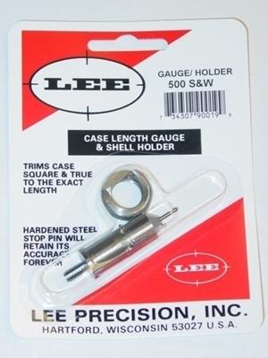 Picture of LEE GAUGE/HOLDER 500 S&W