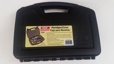 "Picture of MTM Single Pistol Handgun Case (up to 6"") Black"