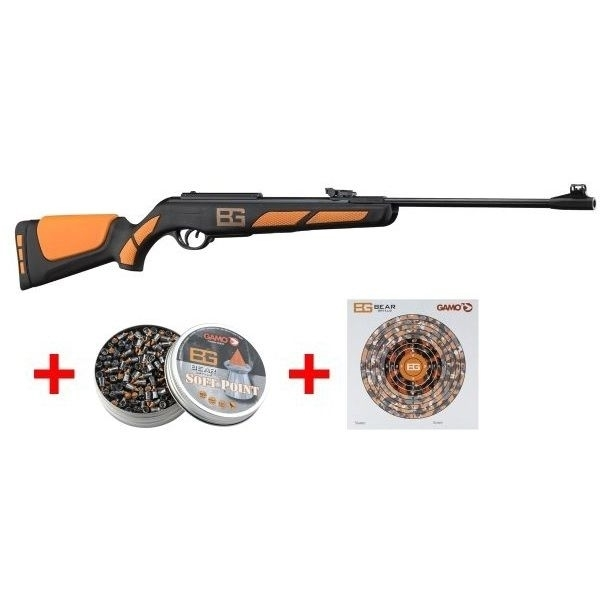 GAMO AIR RIFLE 4 5MM BEAR GRYLLS SET