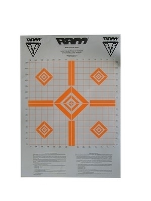 Picture of RAM SCOPE ZERO TARGETS (3) ORANGE
