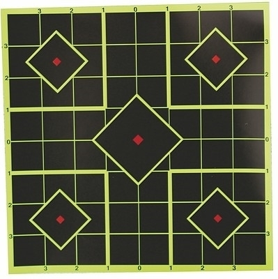 """Picture of RAM 8"""" - 20CM, 6PCE SCOPE ZERO REACTIVE TARGETS, 36 PATCHES"""