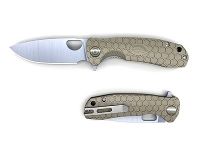Picture of HONEY BADGER FLIPPER LARGE (TAN)