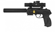 Picture of GAMO AIR PISTOL 4.5MM PT-85 BLOWBACK TACTICAL