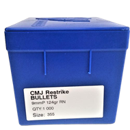 Picture of CMJ 9mm RN 124gr Frontier Bullet - (1000)