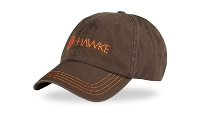 Picture of HAWKE DISTRESSED CAP GREY/ORANGE