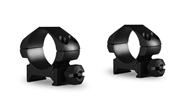 """Picture of HAWKE PRECISION STEEL RING MOUNTS 1"""" 2 PCE WEAVER LOW"""
