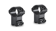 """Picture of HAWKE MATCH MOUNT 1"""" 2 PIECE 9-11mm HIGH"""