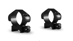 Picture of HAWKE PRECISION STEEL RING MOUNTS 30MM 2 PCE WEAVER MED