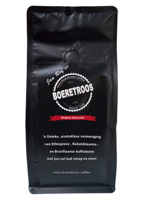 Picture of Boeretroos Medium Roast Coffee 250g Beans