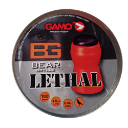 Picture of GAMO PELLETS 4.5MM BEAR GRYLLS LETHAL100