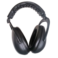 Picture of RAM NON ELECTRONIC EAR MUFFS - BLACK