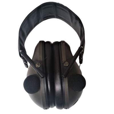Picture of RAM ELECTRONIC STEREO EAR MUFFS - GREEN