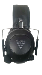 Picture of RAM ELECTRONIC STEREO EAR MUFFS - BLACK