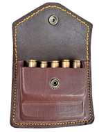 Picture of LEATHER RIFLE AMMO POUCH