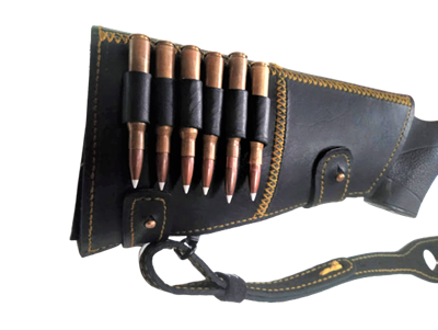 Picture of BUTTSTOCK LEATHER CARTRIDGE HOLDER