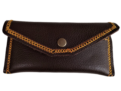 Picture of SHOOTING GLASSES CASE LEATHER POUCH