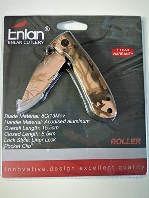 Picture of ENLAN ROLLER CAMO W/POCKET CLIP