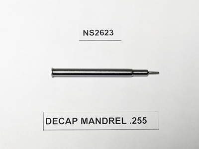 Picture of LEE DECAP MANDREL .255