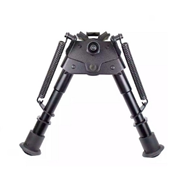 Picture of PRIMAX 6-Inch to 9-Inch Sniper Hunting Tactical Bipod (Black)