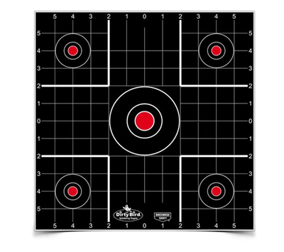 Picture of BIRCHWOOD CASEY DIRTY BIRD® 12 INCH SIGHT-IN TARGET (1)
