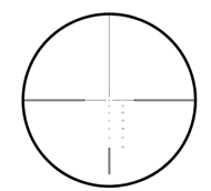 Picture of HAWKE VANTAGE 30 WA SF IR 4-16x50 RIMFIRE .22 (SUBSONIC) RETICLE