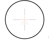 Picture of SIDEWINDER 30 FFP 4-16x50 FFP HALF MIL RETICLE