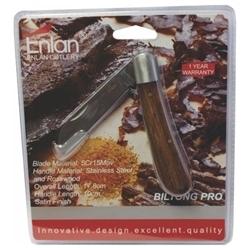 Picture of ENLAN BILTONG-PRO WOOD FOLDER S/FOOT BLADE BLISTER